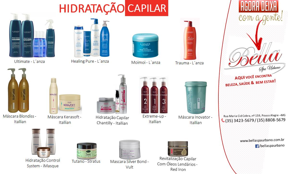Hidratação Capilara
