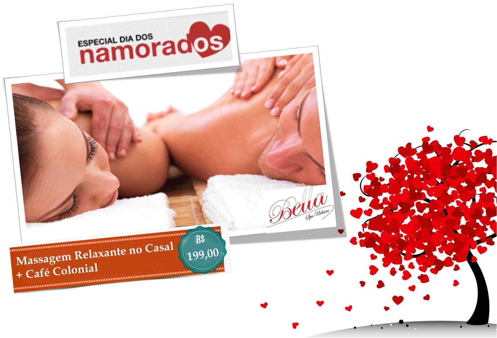 Dia dos Namorados - Massagem no Casal